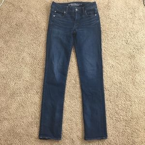 American Eagle Outfitters Straight Denim Jeans 6